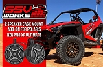 SSV Works Polaris RZR Pro XP Complete 2 Plug & Play Cage-Mounted 6.5