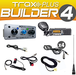 PCI Race Radios Trax PLUS Builder 4 Intercom Package