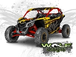 Wolf Designs UTV Wraps - WD-MX3-001 CAN-AM MAVERICK X3 WRAP KIT
