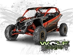 Wolf Designs UTV Wraps -  WD-MX3-009 CAN-AM MAVERICK X3 WRAP KIT