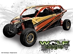 Wolf Designs UTV Wraps -  WD-MX3-MAX-003 CAN-AM Maverick X3 Max Wrap Kit