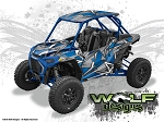Wolf Designs UTV Wraps - WD-PLRS-TRBOS-001 Polaris Turbo S 2 Seat Wrap Kit