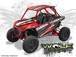 Wolf Designs UTV Wraps - WD-PLRS-TRBOS-002 Polaris Turbo S 2 Seat Wrap Kit