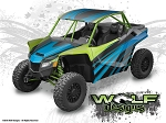 Wolf Designs UTV Wraps - WD-TEX-WCXX-001 Textron Wildcat XX UTV Wrap Kit