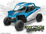 Wolf Designs UTV Wraps - WD-TEX-WCXX-002 Textron Wildcat XX UTV Wrap Kit