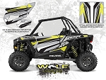Wolf Designs Polaris 2015 RZR XP1000 FOX Edition Silver Door Wrap Kit