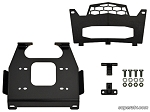 Super ATV Polaris RZR XP 1000 Winch Mounting Plate
