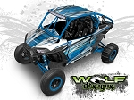 Wolf Designs UTV Wraps -WD2B-008 POLARIS XP1K WRAP KIT