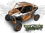 Wolf Designs UTV Wraps - WD2B-009 POLARIS XP1K WRAP KIT