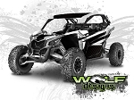 Wolf Designs UTV Wraps - WD-MX3-003 CAN-AM MAVERICK X3 WRAP KIT