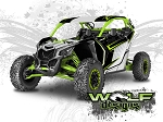 Wolf Designs UTV Wraps - WD-MX3-004 CAN-AM MAVERICK X3 WRAP KIT