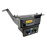 PCI Race Radios RZR XP1000 Radio & Intercom Bracket (Under Dash Box)