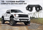 VisionX Ford F150 Raptor Optimus LED Fog Light Kit
