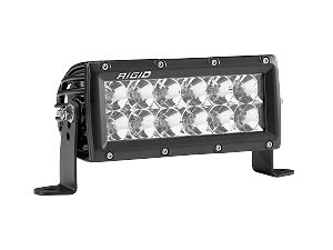 "Rigid Industries 6"" E-Series PRO LED Light Bar - Flood"