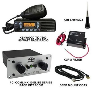 PCI Race Radios 50w Race Package 10
