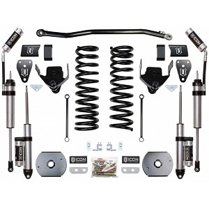 "Icon Vehicle Dynamics 2014+ RAM 2500 4WD 4.5"" Suspension System - Stage 2 (Air Ride)"