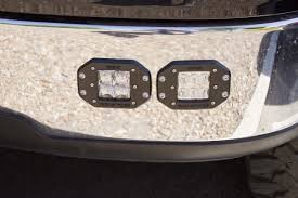 Rigid Industries Dually D-Series PRO Flush Mount LED- Specter-Diffused - Pair