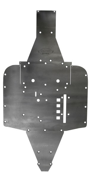 SSS Offroad Can-Am Maverick XDS 2015 UHMW Skid Plate