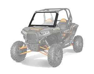 Slasher Polaris RZR 900/1000 15-17 Full Windshield