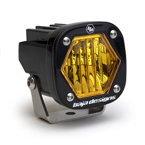 Baja Designs S1 LED Auxiliary Light- Amber Wide Cornering