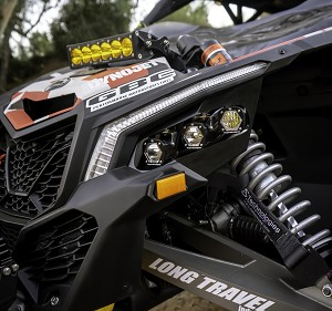 Baja Designs Can-Am Maverick X3 LED Headlight Kit