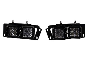 Rigid Industries 2010-2015 Dodge Ram Fog Light Kit