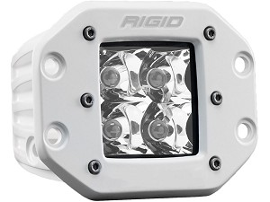 Rigid Industries Marine Series Dually D-Series PRO Flush Mount LED Light - Spot