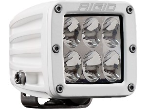 Rigid Industries Marine Series Dually D-Series PRO LED Light- Specter - Driving