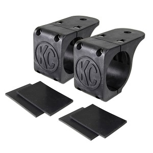"KC HiLites Light Mount Tube Clamp Pair for 1.75""-2"""