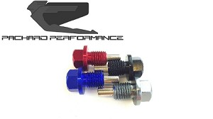 Packard Performance RZR Billet Magnetic Oil Drain Plug
