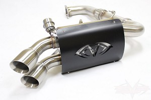 "Evolution Powersports RZR XP Turbo ""Captains Choice"" 3"" Turbo Back Cut Out Exhaust"