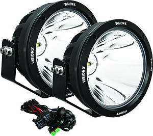 "VisionX LED 8.7"" Gen-2 LED Light Cannon-PAIR"