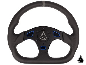 "Assault Industries Ballistic D-Shaped ""V2"" Quick Release Steering Wheel Kit"