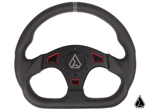 "Assault Industries Ballistic D-Shaped ""V2"" Fixed Steering Wheel Kit"