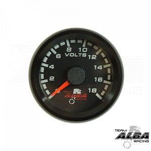 Alba Racing Polaris RZR XP1000 Battery Volt Gauge