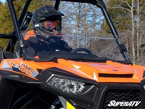 SuperATV Polaris RZR 900/1000/Turbo Half Windshield