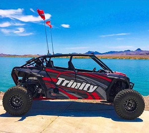 "SDR Motorsports Fastback ""Betsy"" 4 Seat Cage Polaris RZR XP1000 & XP Turbo"