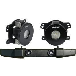 VisionX Jeep JK Factory Fog Light LED Upgrade Kit