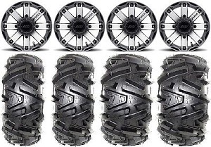 "MSA 14x7 M27 Rage Wheel and EFX 28"" Moto MTC Tire Dark Tint Kit"
