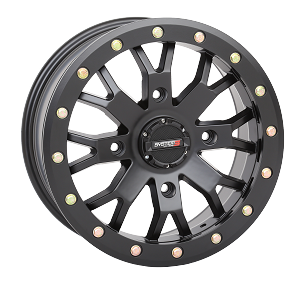 System 3 Off-Road SB-4 Beadlock Wheel- Matte Black