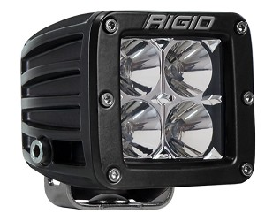 Rigid Industries Dually D-Series Pro LED Light- Hybrid- Flood
