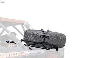 CageWrx Polaris XP1000/Turbo Spare Tire Carrier - Standard