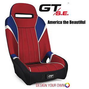 PRP Seats Textron Wildcat GT SE Suspension Seat - AO Edition Pre Designed