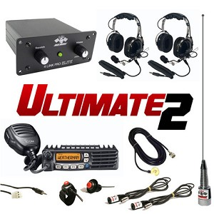 PCI Race Radios Ultimate 2 Seat Package