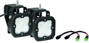 VisionX Ford 99-14 F250/350 Superduty LED Fog Light Upgrade Kit
