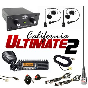 PCI Race Radios California Ultimate 2 Seat Package