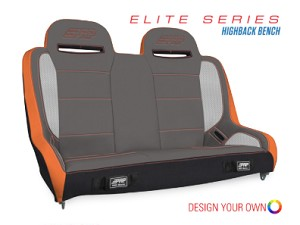PRP Comp Elite Series Highback Bench Suspension Seat