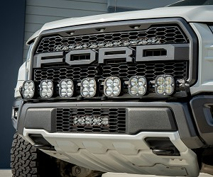 Baja Designs Ford Raptor (17-On), Squadron 7 XL Linkable LED Kit