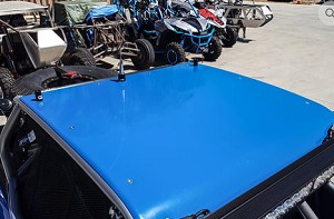 Madigan Motorsports XP 1000/Turbo 2 seat Aluminum Roof