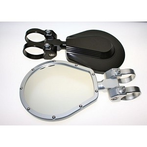 "Axia Alloys 6"" Convex Glass Folding Side Mirror"